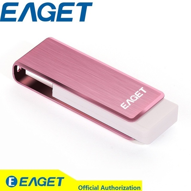 Couple Pendrive!! EAGET F50 High Speed USB 3.0 256GB USB Flash Drive Memory External Storage Metal Stick PenDrive Blue Pink 256G