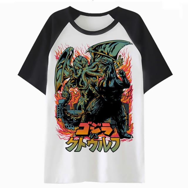 Cthulhu t camisa streetwear ropa para tee camiseta top hop RAP hip  divertido harajuku hombres 18675145fd6