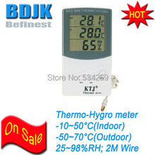 Indoor &Outdoor Digital Humidity and Temperature Meters C/F Hygro-Thermo Meter