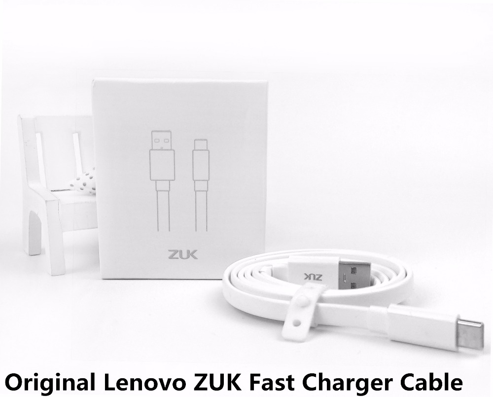 Original Lenovo ZUK Fast Charger Cable , Qualcomm Quick Charge QC3.0 USB To Type C Data Charge Data line For ZUK Z1 Z2 Pro A5325