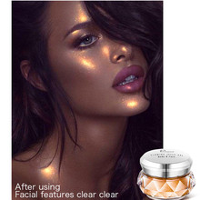 Global fashion sexy girl face high gloss cream Mermaid body makeup seductive charm color loose powder hot sale Attractive