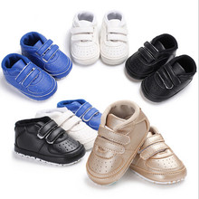 PUDCOCO Infant Baby Boy Girl Pre Walker Sports Crib Shoes Toddler First Sneakers 0-18 M