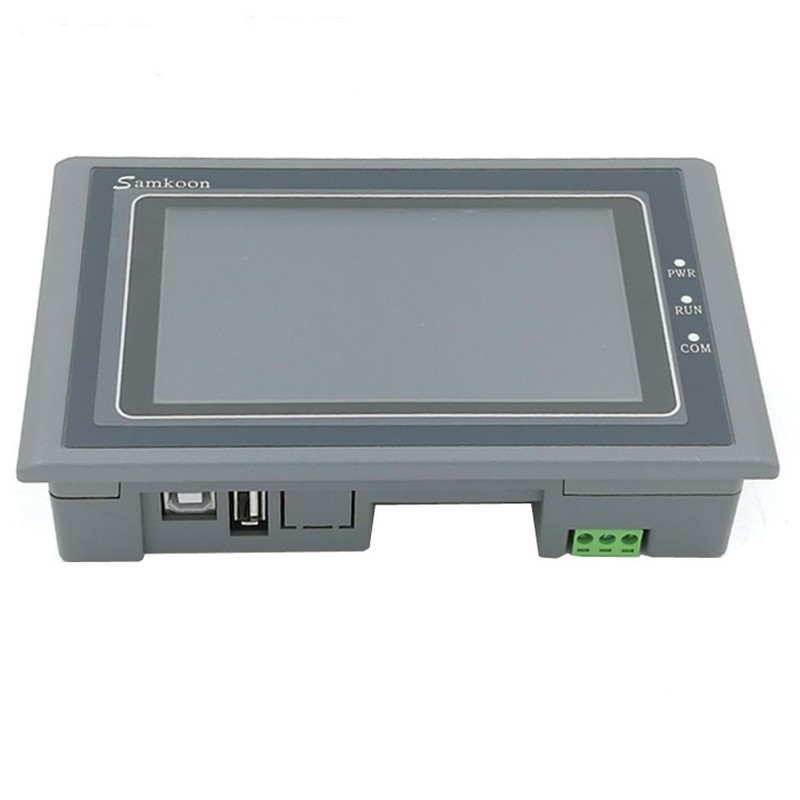 New 4 3 universal HMI Cheap Display and control Touch Screen SK 043HE SAMKOON Replace SK