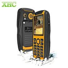 IP68 Waterproof Shockproof Dustproof KEN XIN DA Proofing W3 Cellphone 2.2 inch Bluetooth FM GSM 2G 2000mAh Battery Mobile Phone
