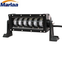Marlaa 1pc 10 Inch 3240LM 48W LED Light Bar Offroad Truck Trailer 4x4 4WD SUV ATV