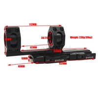 Scope Mount For 25 4mm 30mm Tube Diameter QR Extended Cantilever QD Mounts Bases Auto Lock