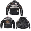 Free Shipping Cheap new Honda PU jacket a few drop warm four season racing motorcycle clothing waterproof windproof