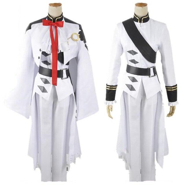 Owari uniforme de baño Ferid de Seraph of the end, traje completo de Cosplay de Anime