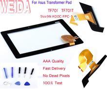 цена на WEIDA 10.1 For Asus Transformer Pad TF701 LCD Touch Screen Digitizer Glass Panel TF701T LCD 5449N K00C FPC-1 LQ101R1SX03