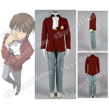 The World God Only Knows Keima Katsuragi Red Uniform Cosplay Costume
