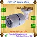 Built in wifi 960P IR Security Bullet ONVIF Waterproof Night Vision P2P IP Cam IR Cut 1.3MP Network 1.3 Megapixel Camera