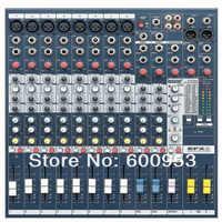 Pro 8 Channel Mixing Console DJ & Karaoke Mixer  EFX-8