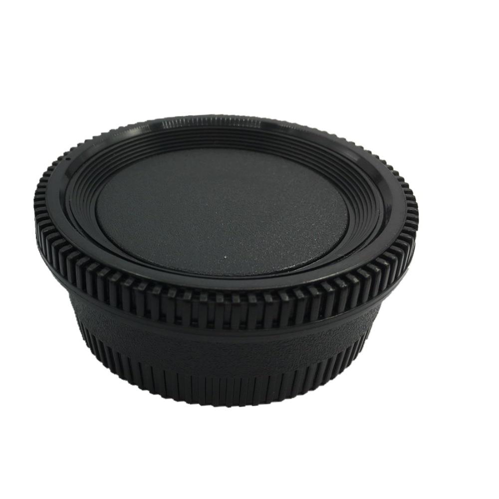 LXH 2 Packs Kamera Ön Gövde Kap ve Arka Lens Kapağı Kapak için - Kamera ve Fotoğraf - Fotoğraf 6