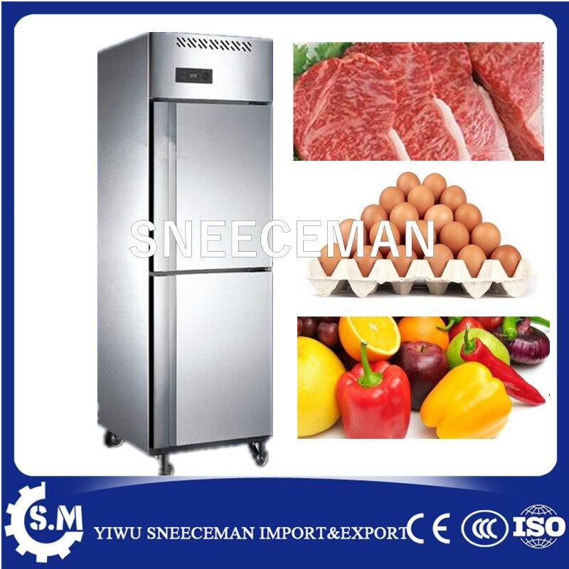 AnpassungsfäHig 2 Tür Gefrierschrank Kühlschrank Für Gewerbliche Nutzung