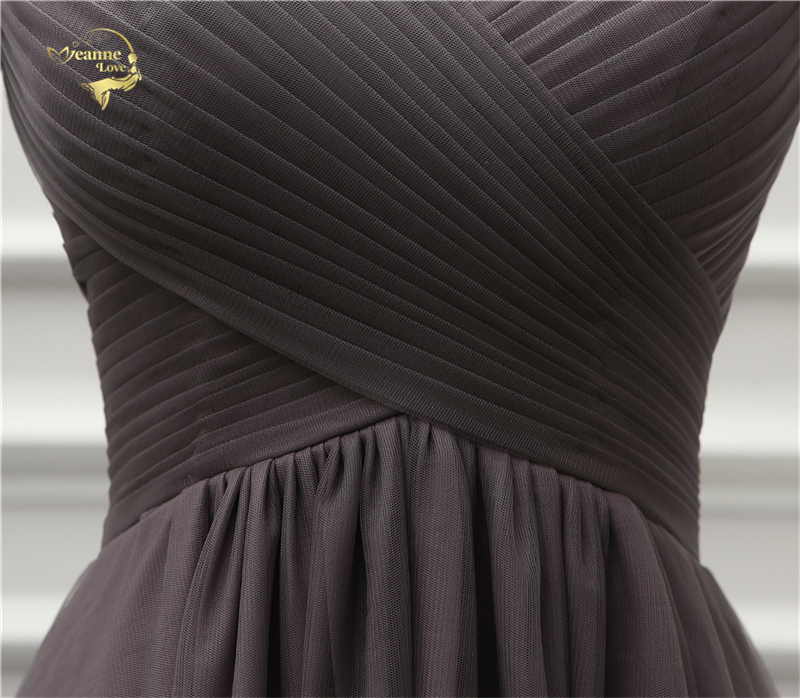 Jeanne Love Luxury Evening Dress New Arrival Front Short Long Back Short Sleeves Party Robe De Soiree Vestido De Festa OL5232 9