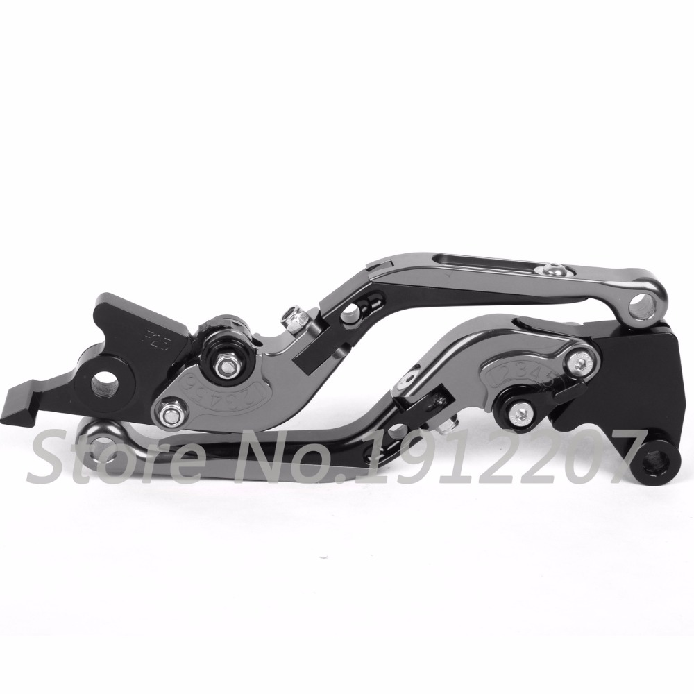 ФОТО For Aprilia pegaso 650 strada 2005-2009 Foldable Extendable Brake Clutch Levers Aluminum Alloy High Quality Folding&Extending
