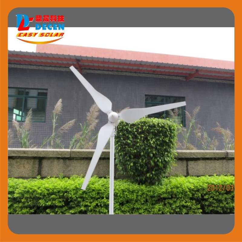 300W High Efficiency Wind Generator Small Size Low Weight. Low Noise Easy Install Max Power:400W