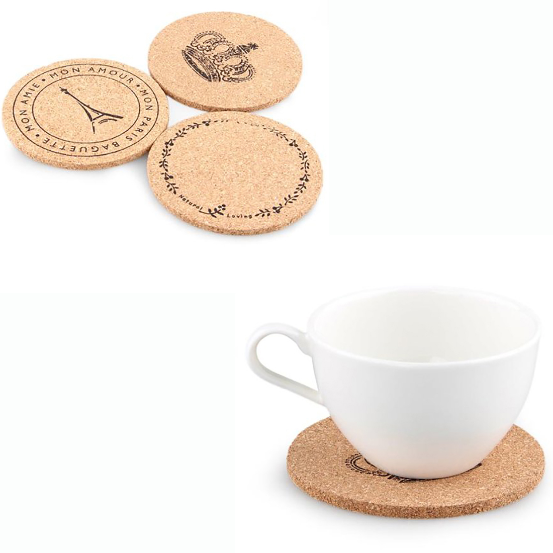 popular wood cup coasterbuy cheap wood cup coaster lots from  -  fashion  pcs wooden coffee drink mug cup coaster mat placemat roundvintage insulation(