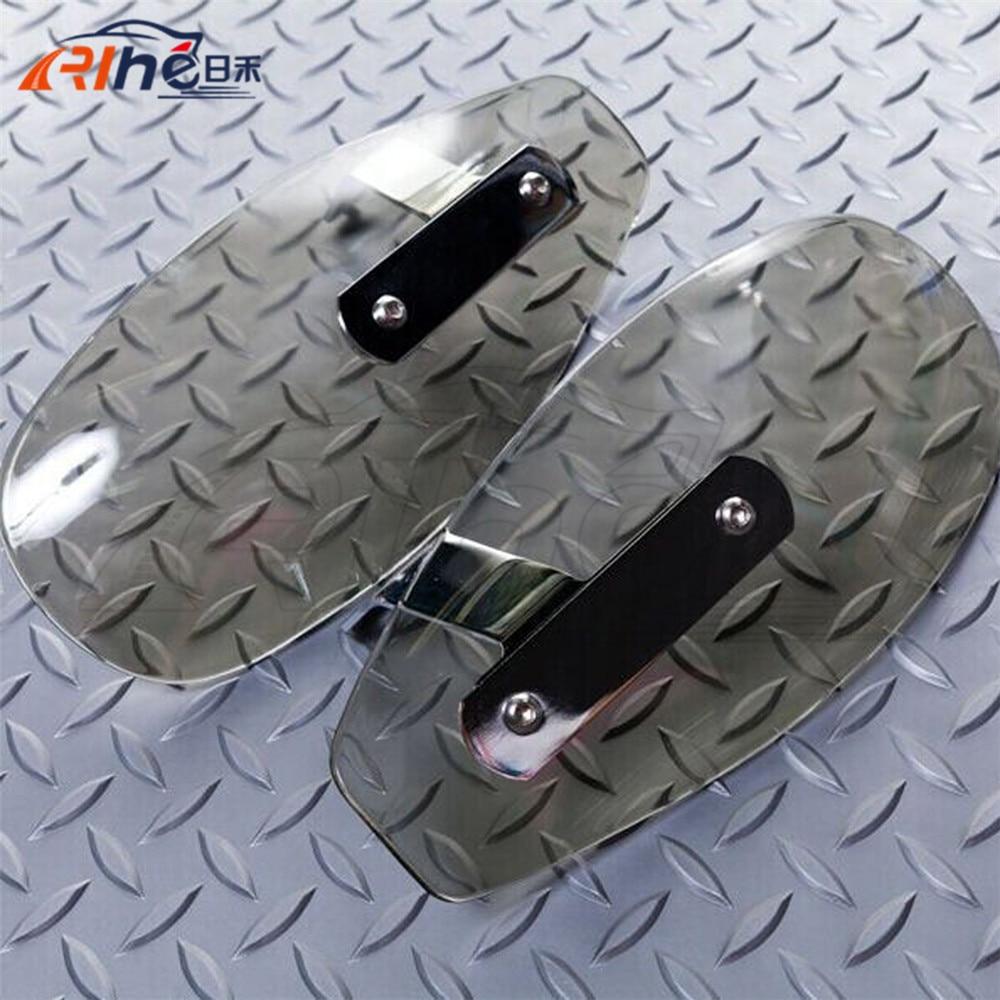 ФОТО new motorcycle parts hand guard protector ABS plastic windshield handguards clear For Kawasaki Ninja 300 EX300 Z300 NINJA Z250