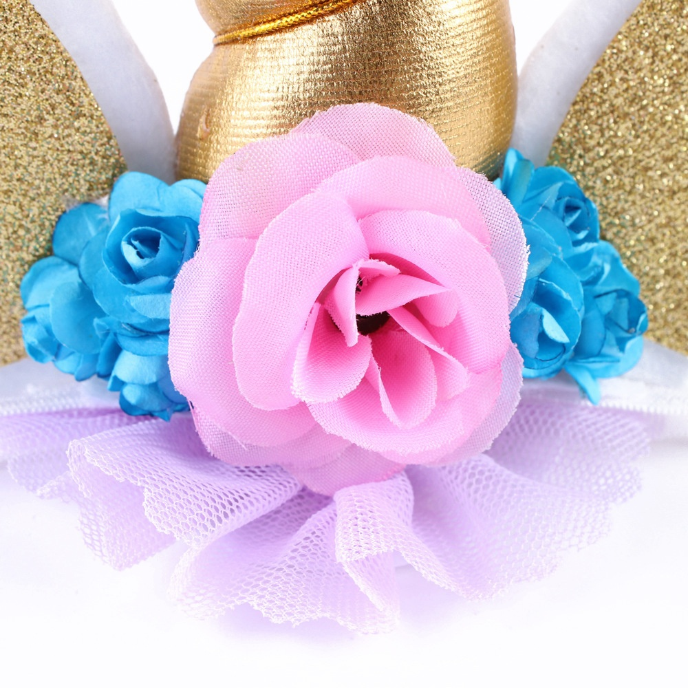 1PC Photo Prop Unicorn Flower Crown Headband party headband Magical Unicorn  Headband Floral Unicorn DIY Kit Unicorn Horn on Aliexpress.com  7d29fd66b79