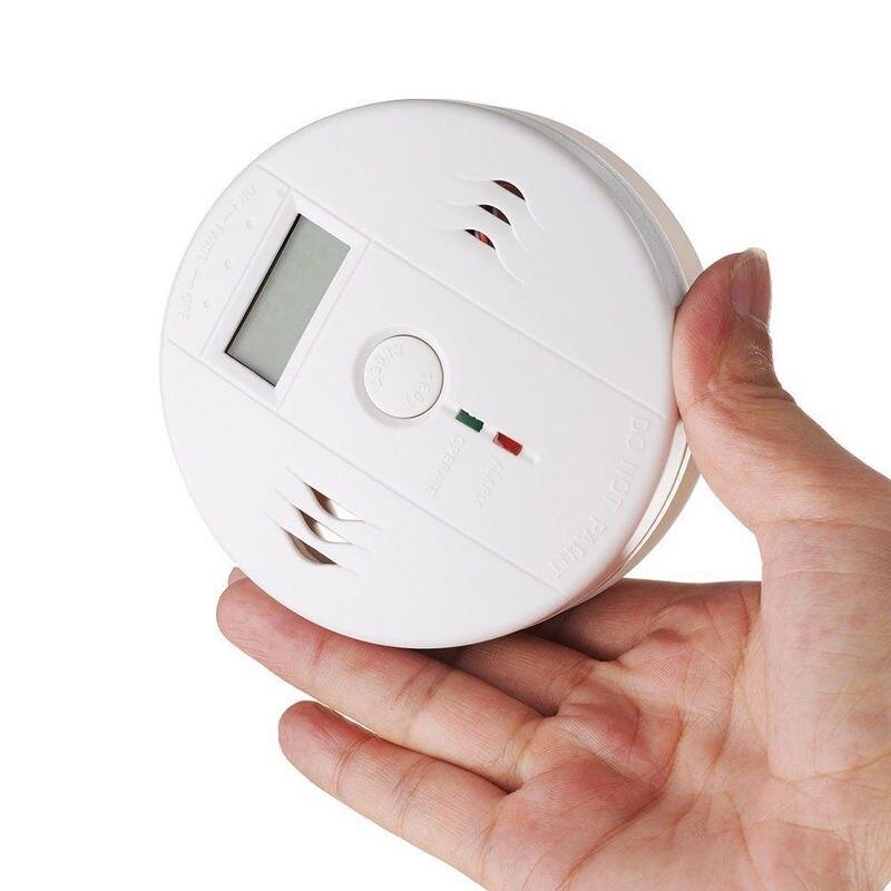 CO Carbon Monoxide Poisoning Gas Sensor Warning Alarm Detector Tester LCD