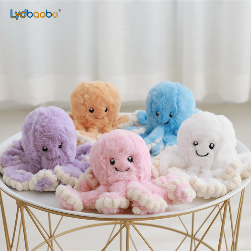 1pc 18cm Creative <font><b>Octopus</b></font> Plush <font><b>Toys</b></font> <font><b>Octopus</b></font> Whale Dolls & Stuffed <font><b>Toys</b></font> Plush Small Pendant Sea Animal <font><b>Toys</b></font> Children Baby Gifts image