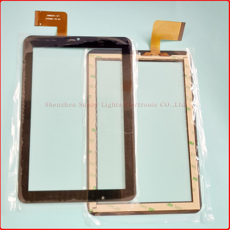 New For 8 inch Tablet Digitizer JM80H-01 ZYD080-76 V01 Sensor Replacement Tablet Touch s ...
