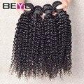 Brasileiro curly virgem cabelo 4 pcs brasileiro virgem cabelo kinky curly virgem cabelo barato do cabelo humano 100g bundles grátis grátis