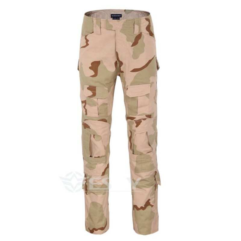 Несколько карманов Rapid Assault multicam брюки Камуфляж тактический военная одежда пейнтбол армия грузовой combat брюки