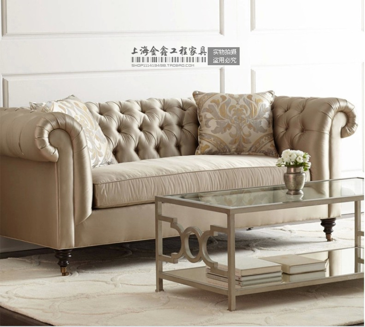 European Fabric Sofa Modern Sofa Set And Sofa American