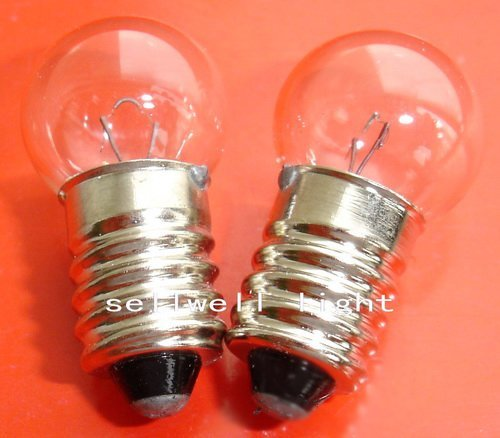 Free Shipping Great!miniature Lamp Light 6v 6w E10 G14 A553