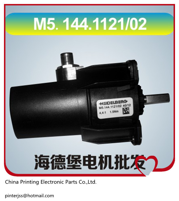 spare parts printer of heidelberg motor M5.144.1121/02