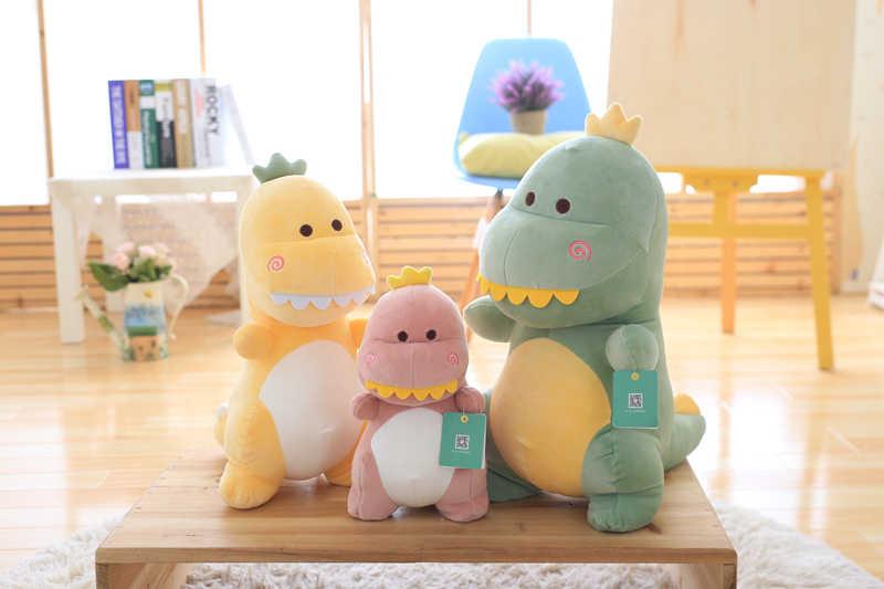 Alta qualidade bonito do dinossauro de brinquedo de pelúcia macia animal dinossauro de brinquedo travesseiro do bebê crianças presente de aniversário brinquedo para crianças