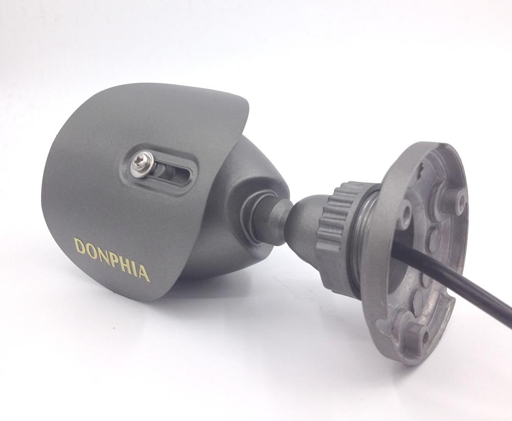 CCTV kamera DONPHIA është një plumb i papërshkueshëm nga uji - Siguria dhe mbrojtja - Foto 3
