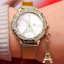 Women's Fashion Steel Watches Womens Females Antique Quartz-watch Ladies Brands Wristwatch Relojes Mujer 2016 saat стоимость