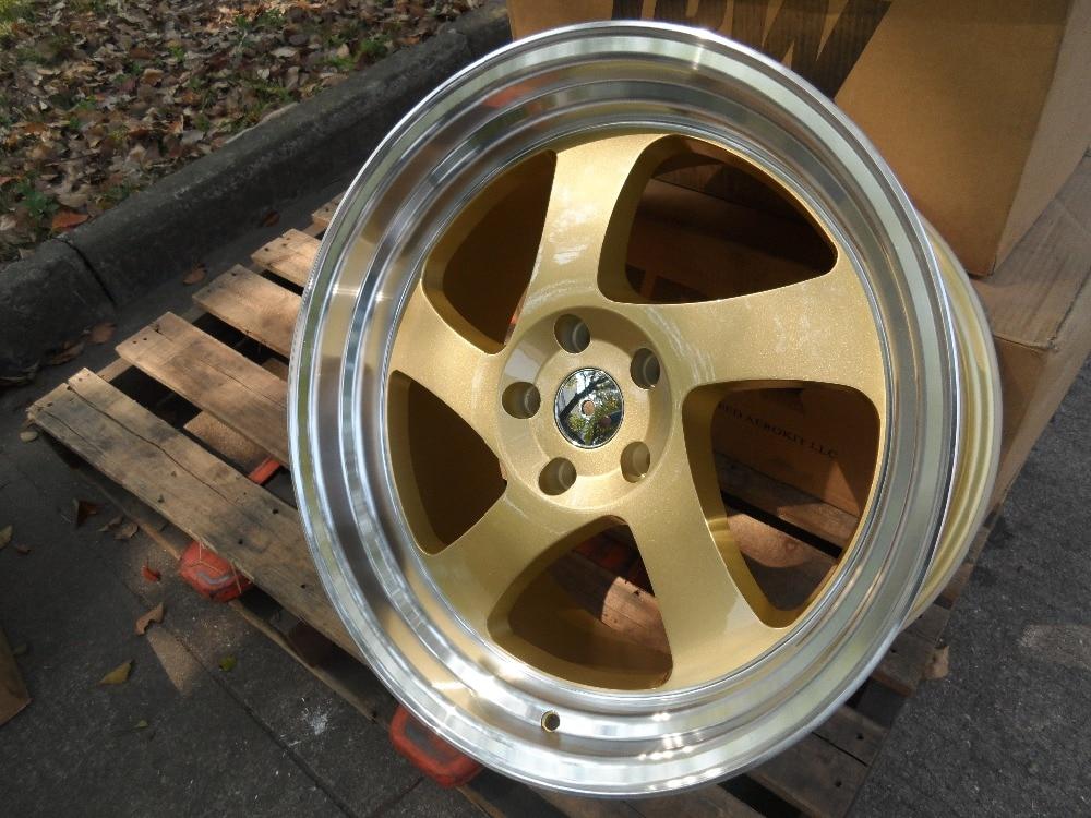 Free Shipping 19 Gold Tmb Style Rims Wheels Fits 350z 370z G35 G37