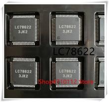 10PCS/LOT LC78622 QFP-64 IC