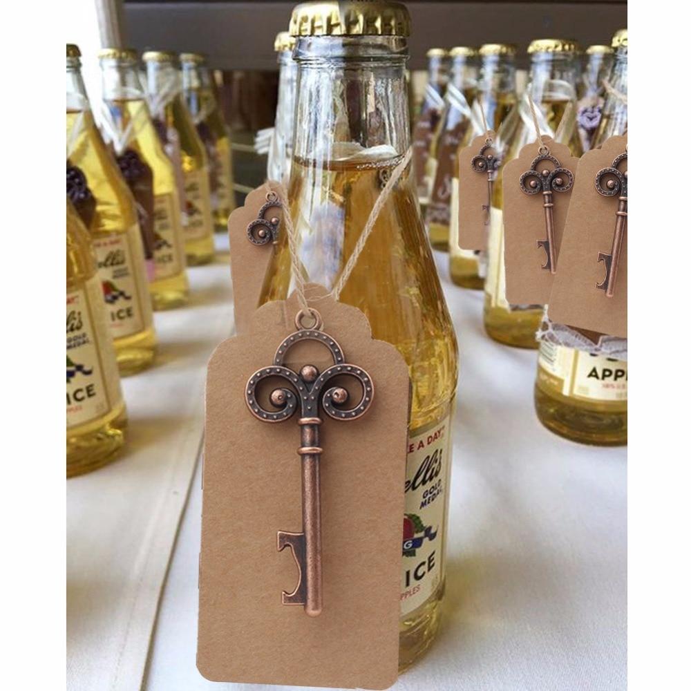 10pcs Party Favors Vintage Skeleton Bottle Opener Wedding