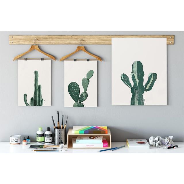 cactus arredamento nordico decorazione a4 poster stampe su