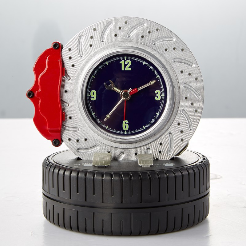 Free Shipping Rotating Brake Disc Alarm Clock Type One ...