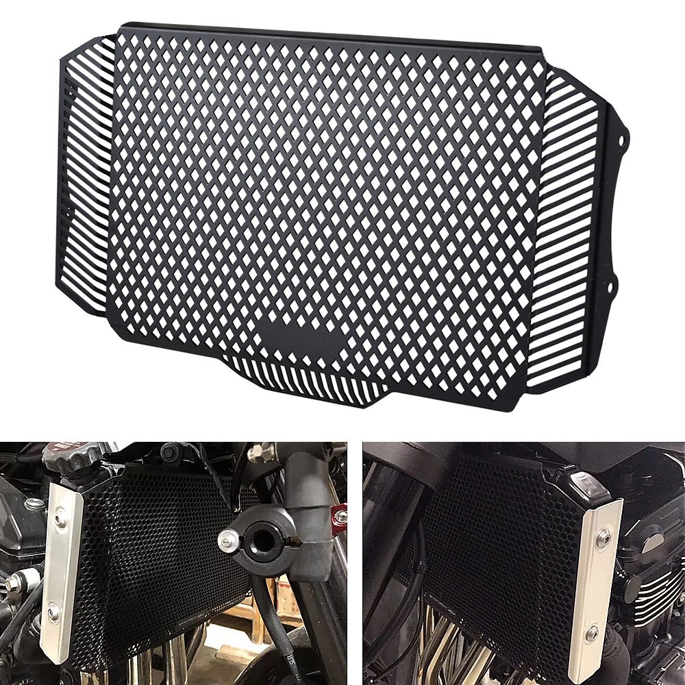 Radiator Grille Guard Protector Cover For <font><b>Kawasaki</b></font> <font><b>Z900RS</b></font> <font><b>Z900</b></font> <font><b>RS</b></font> Z 900RS Z 900 <font><b>RS</b></font> 2018 Motorcycle Radiator Grill Guard image