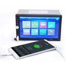 """CES-Nuevo 7 """"pulgadas LCD de pantalla Táctil de coches reproductor de radio"""