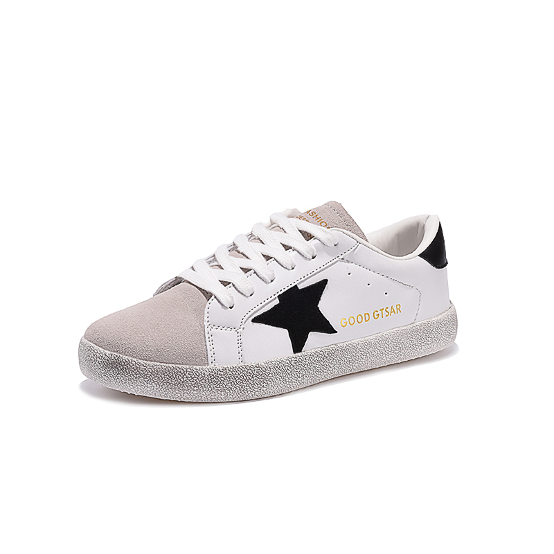 Brand Women Shoes Designer 2017 Italy White Genuine Leather Casual Flats Shoes Sport Superstar Breathe Shoes Footwear Zapatillas hot 2016 new ggdb women shoes golden goose superstar genuine leather blue casual shoes men women sport flats low cut g23d122 p1