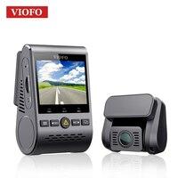 VIOFO A129 Duo Dual Channel 5 ГГц Wi Fi Full HD видеорегистратор Сенсор IMX291 HD двойной 1080 P Видеорегистраторы для автомобилей с gps