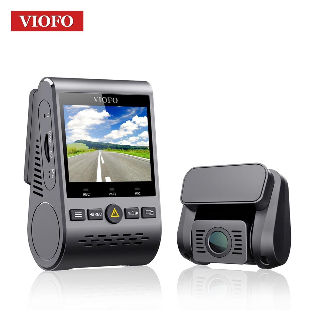 VIOFO A129 Duo double canal 5 GHz Wi-Fi Full HD capteur de caméra de tableau de bord IMX291 HD double 1080 P voiture DVR avec GPS
