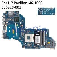 Laptop Motherboard Para HP Pavilion M6-1000 KoCoQin M6T-1000 QCL50 LA-8713P 686928-001 686928-501 SLJ8C Mainboard