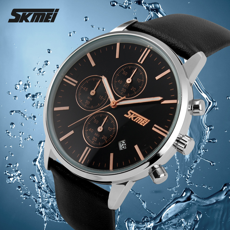 Relojes Watches Men Luxury Top Brand SKMEI New Fashion Men's Big Dial Designer Quartz Watch Male Wristwatch Relogio Masculino