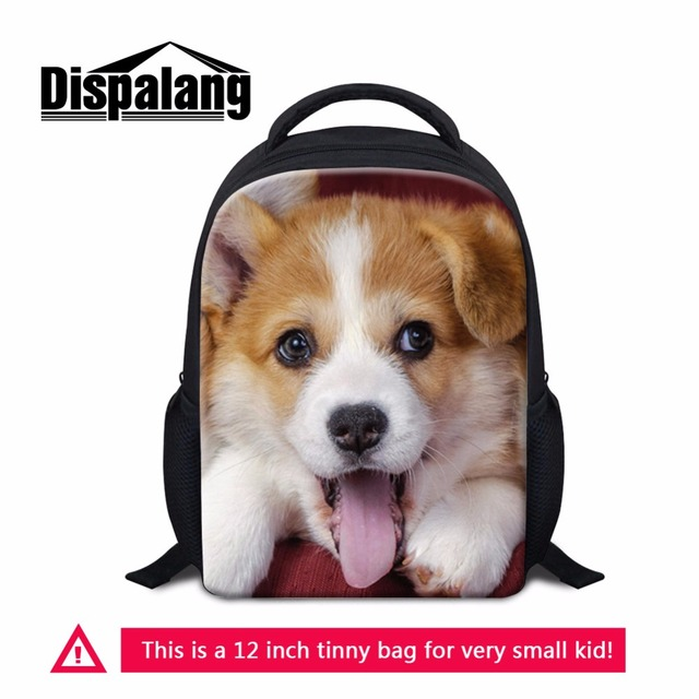 Dispalang Pet Animals Mini School Bags For Kids Small Bookbag For  Preschoolers Cute Children Backpacks Baby Bag Rugzak Aged 1-5