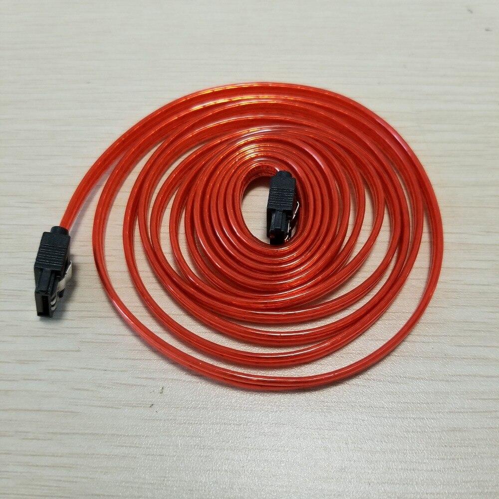 SATA 3th поколения кабель для передачи данных биметаллическая Пряжка медь Core Красный 2 м