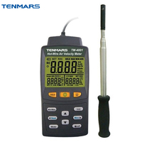 TENMARS TM 4001 термоанемометр с нитью накала измеритель скорости ветра